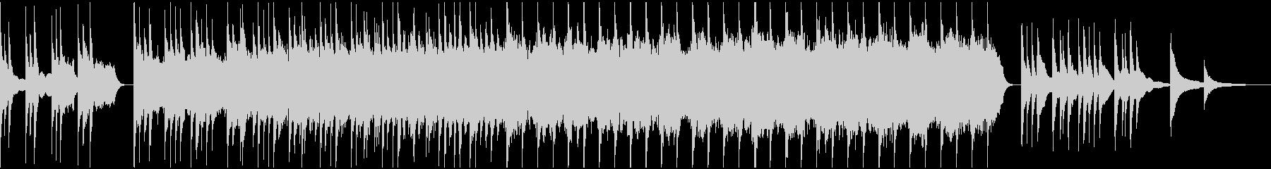 感動的なオーケストラ曲の未再生の波形