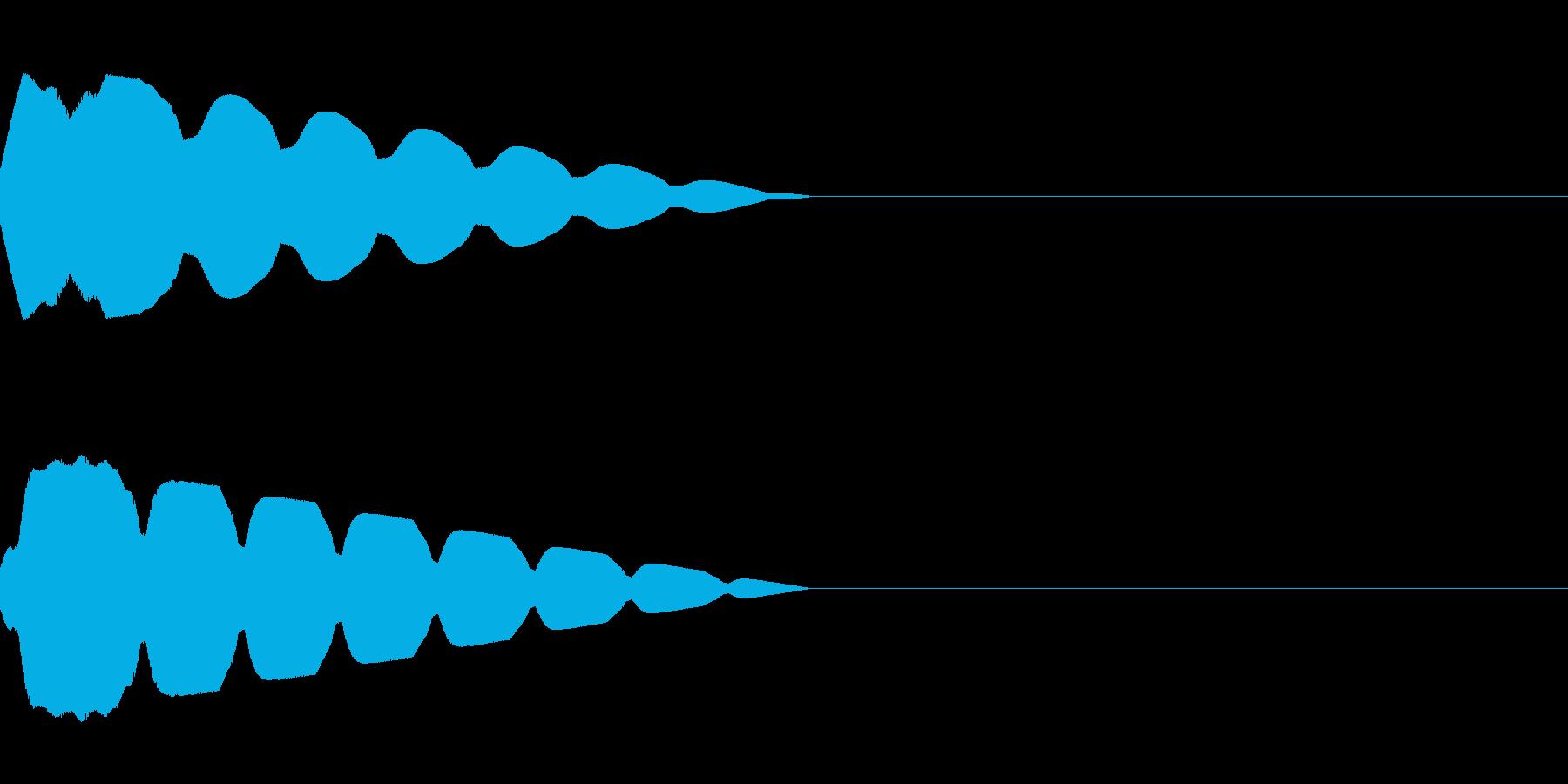 キュイン(飛ばされて星になる タイプ7)の再生済みの波形