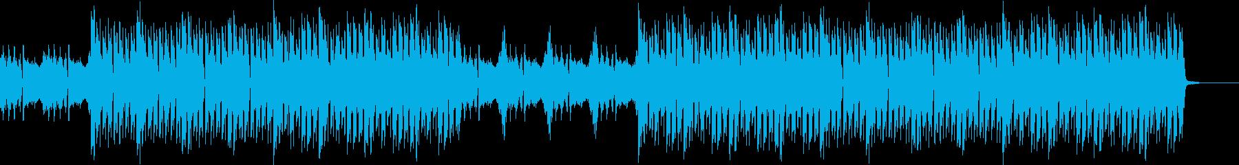 おしゃれ・アイリッシュ・EDM・空気感の再生済みの波形