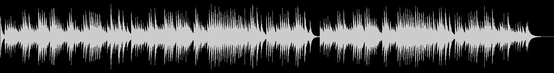 別れの曲 72弁オルゴールの未再生の波形