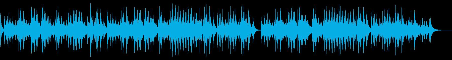 別れの曲 72弁オルゴールの再生済みの波形