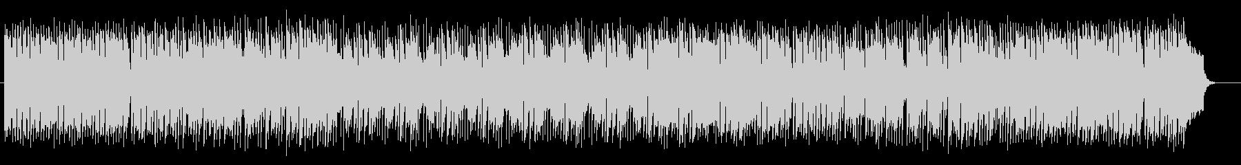 音階を回るように上がっていくシンセ曲の未再生の波形