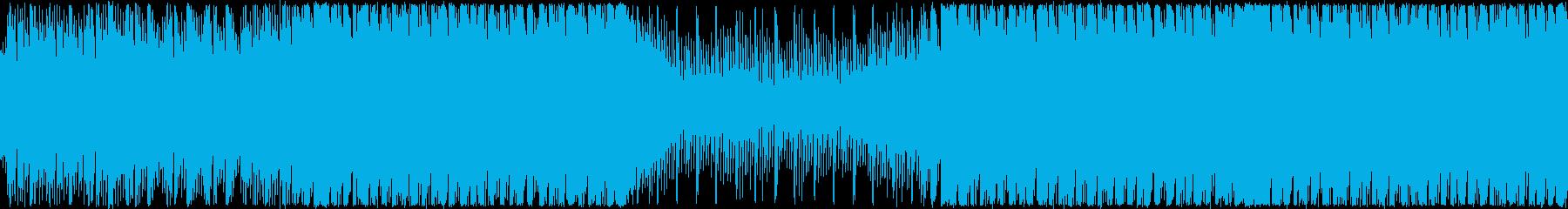 楽しくてかわいい洋楽EDM・ループの再生済みの波形