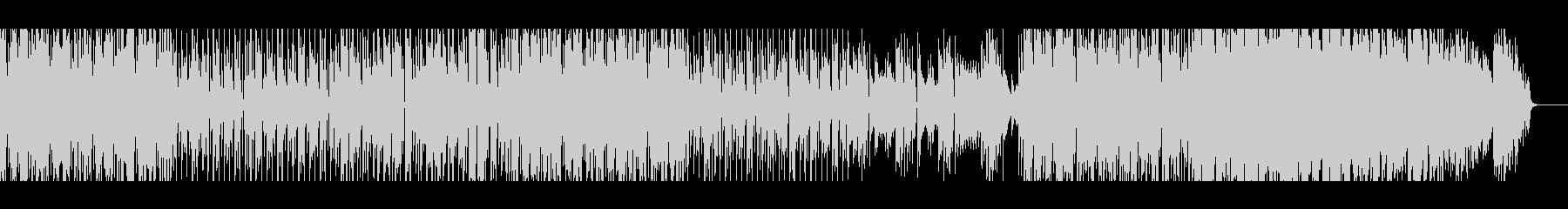 1970年代スペーシーなファンク風BGMの未再生の波形