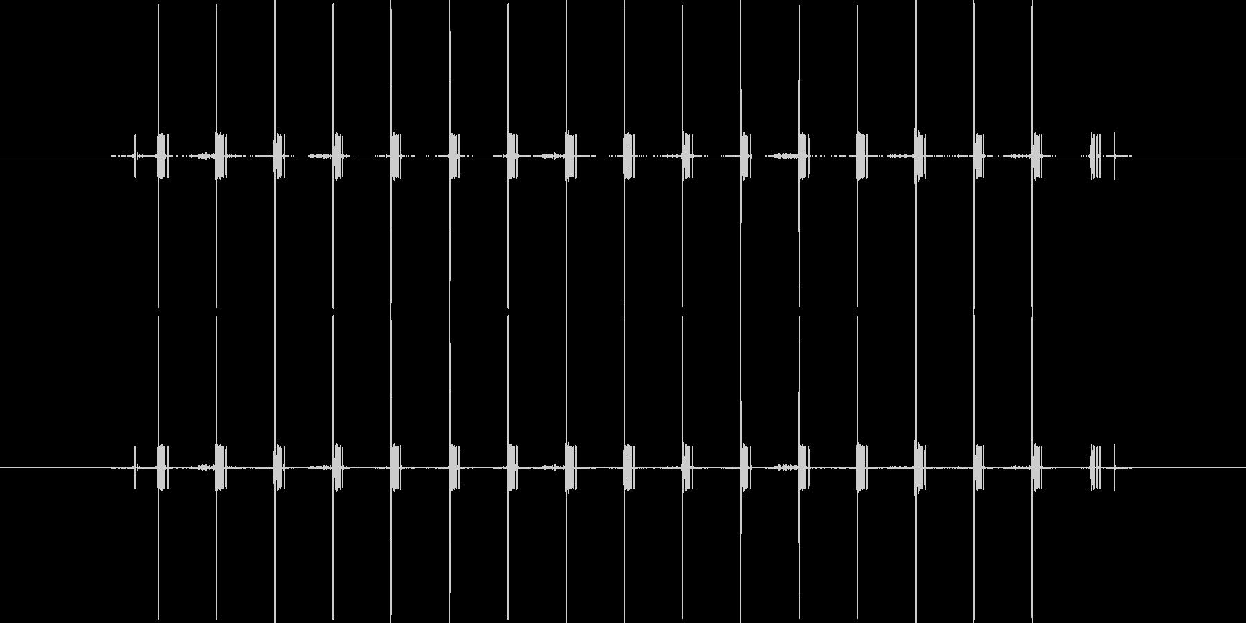 間違い時の電子音/短めの未再生の波形