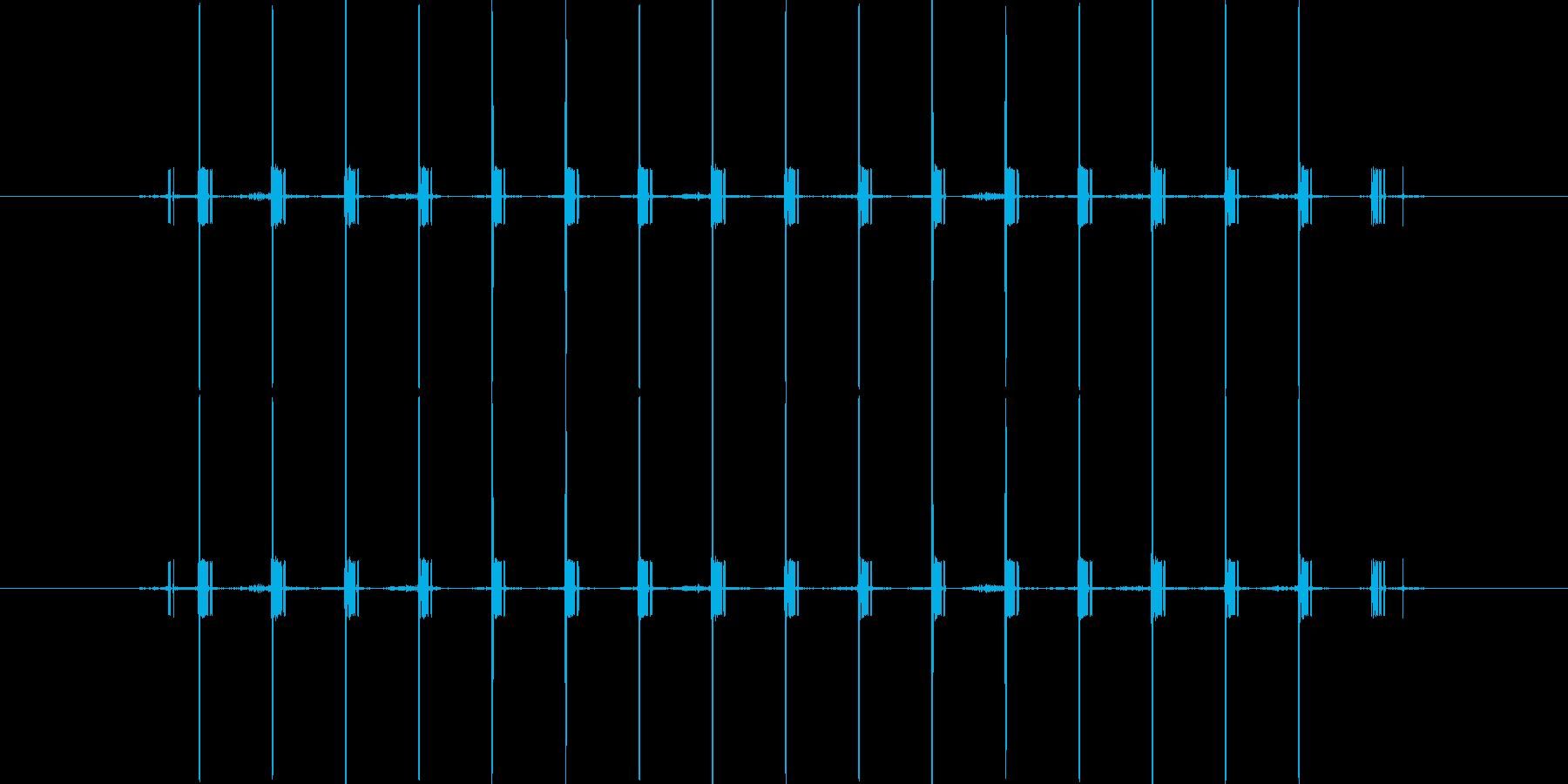 間違い時の電子音/短めの再生済みの波形