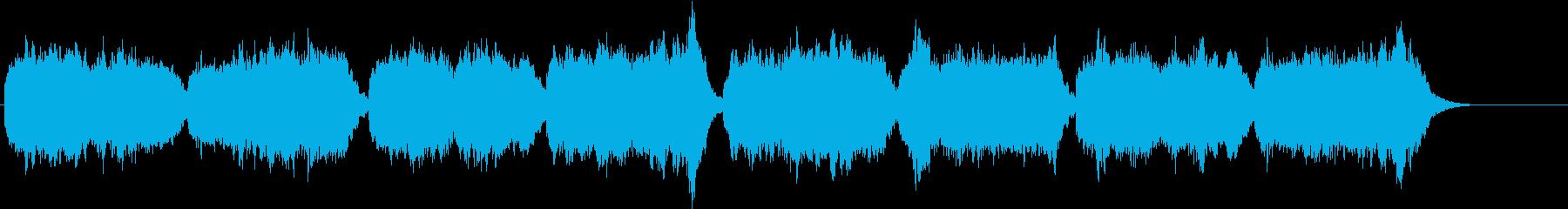 賛美歌いつくしみ深き オルガン&コーラスの再生済みの波形