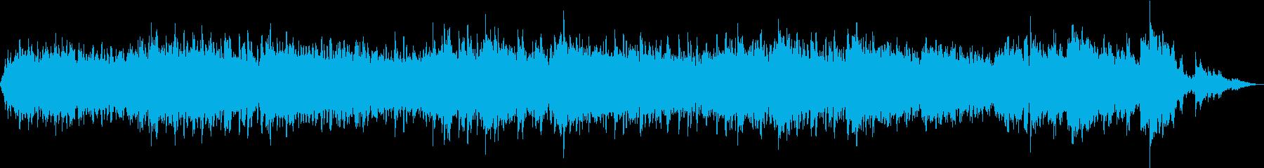 在宅での休憩用BGMの再生済みの波形