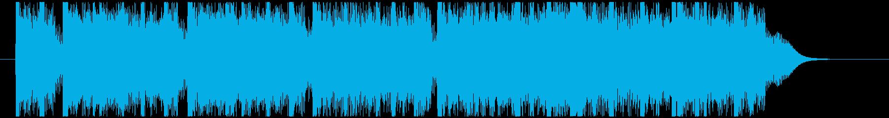 テーレッテーテーレッテーテーレッテーテーの再生済みの波形