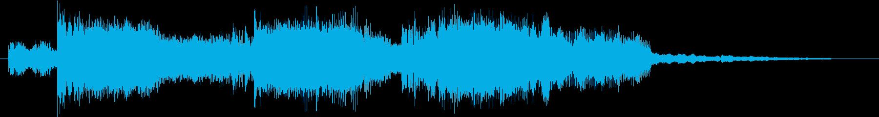 タイミングが合わせやすいエレクトロの再生済みの波形