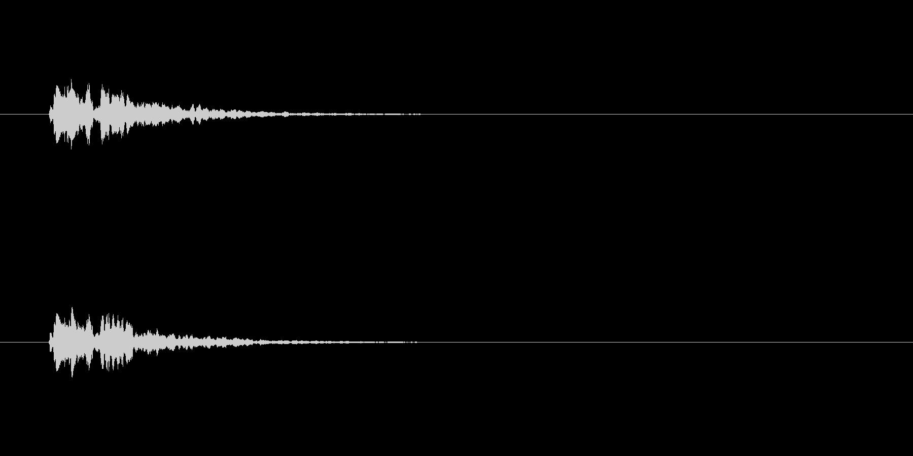 【サイバー17-2】の未再生の波形