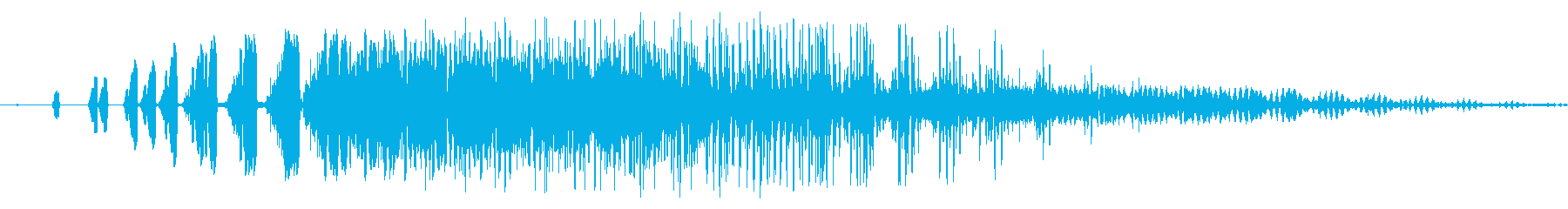 ファミコン風_ 魔法音1の再生済みの波形