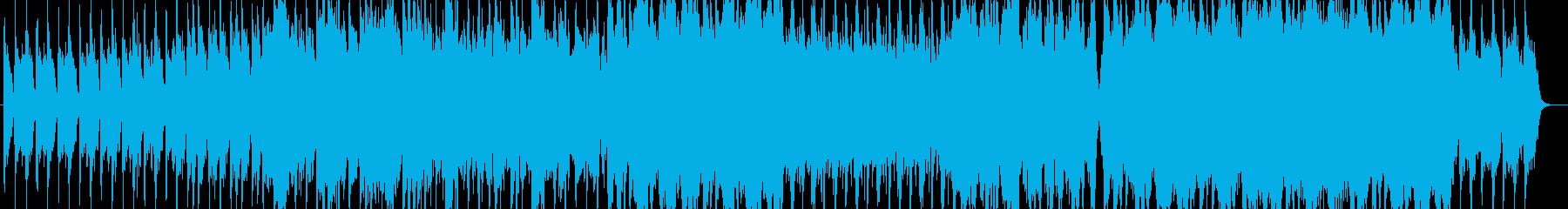オーケストレーションがメインのロック調の再生済みの波形