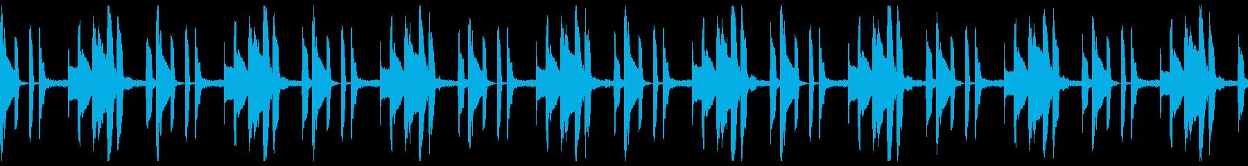 シンプル・CM・報道系・動画広告_ループの再生済みの波形
