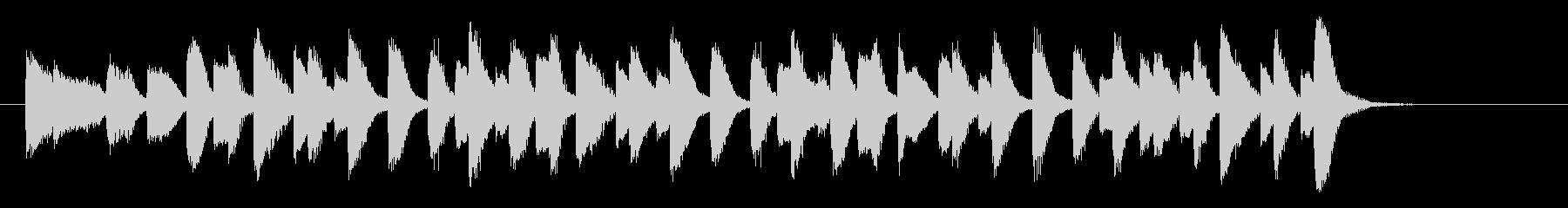 ラグタイムピアノ_オリジナルピアノ曲の未再生の波形