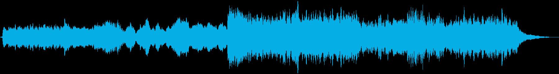 モダン テクノ 実験的 アンビエン...の再生済みの波形