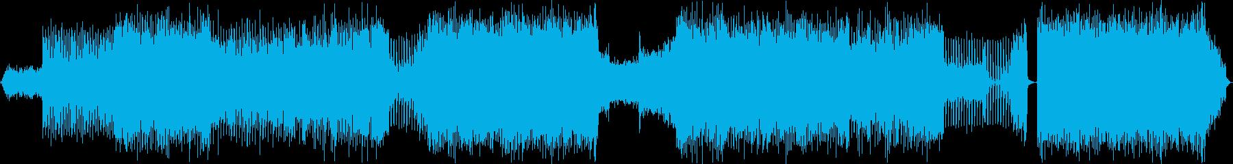 【アコギ抜き】アコギ+EDM  の再生済みの波形