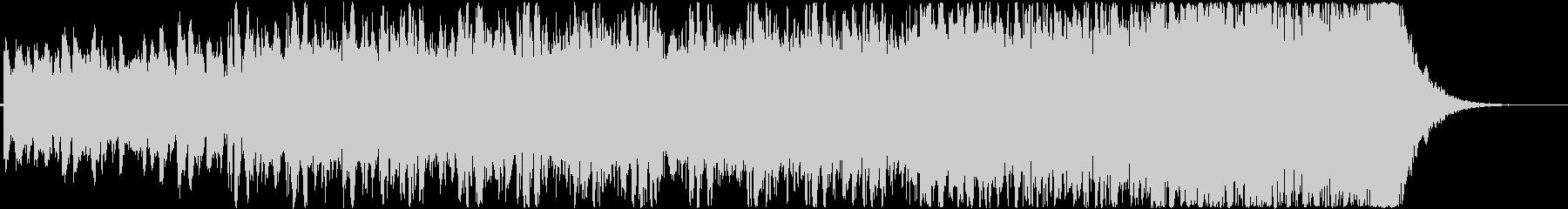 疾走感のあるケルトっぽいトラッドBGMの未再生の波形