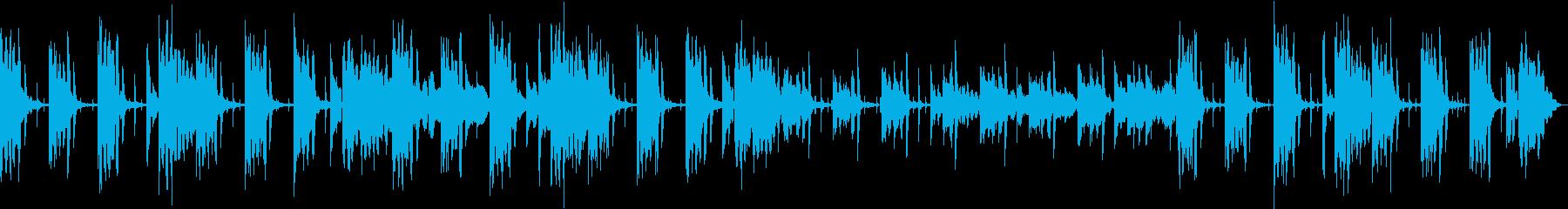 流行りのチルです、コーヒータイムな感じ!の再生済みの波形