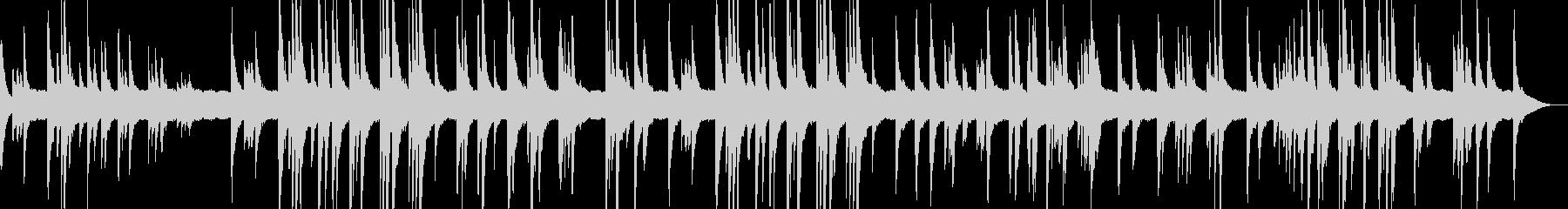ヒーリング音楽その1の未再生の波形