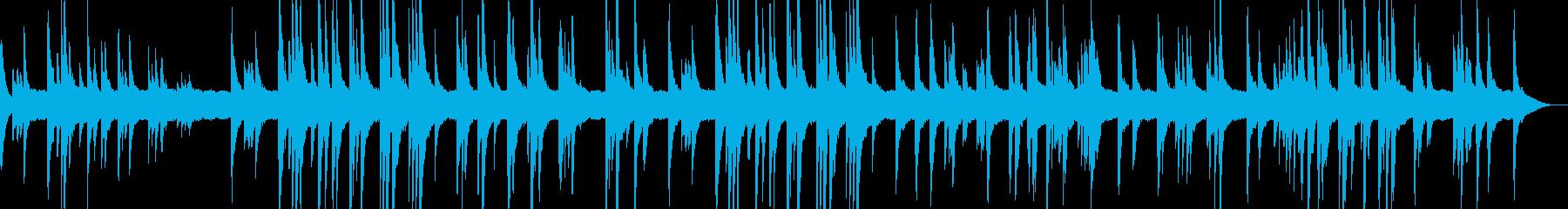 ヒーリング音楽その1の再生済みの波形
