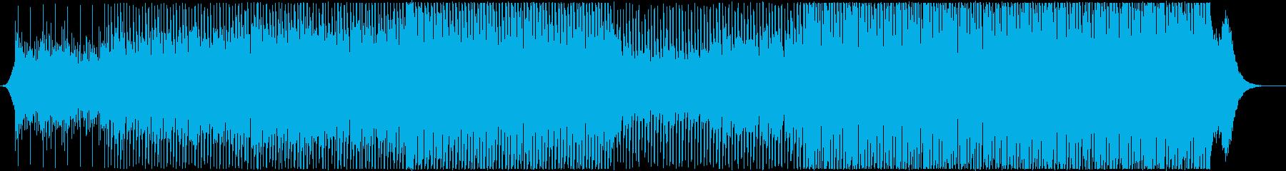 壮大で前向きなプローモーション動画の再生済みの波形