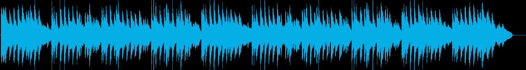 こいのぼり・童謡・春・和風・ピアノの再生済みの波形