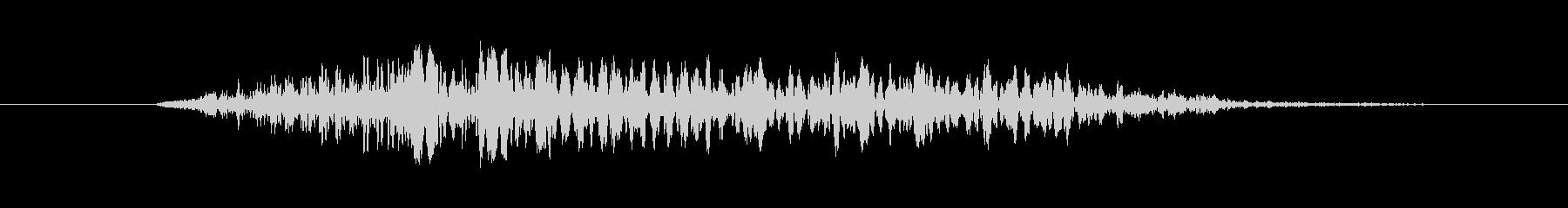 鳴き声 女性のルナティックスクリー...の未再生の波形