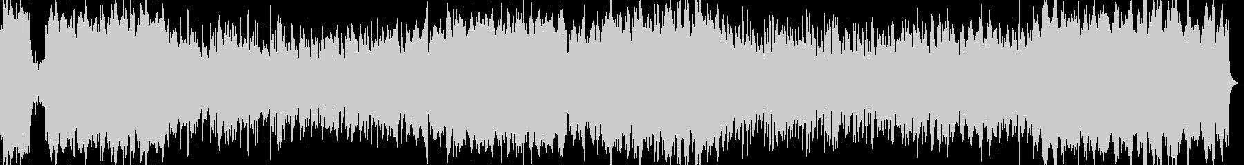 オーケストラ硝子シャンデリア優しいワルツの未再生の波形