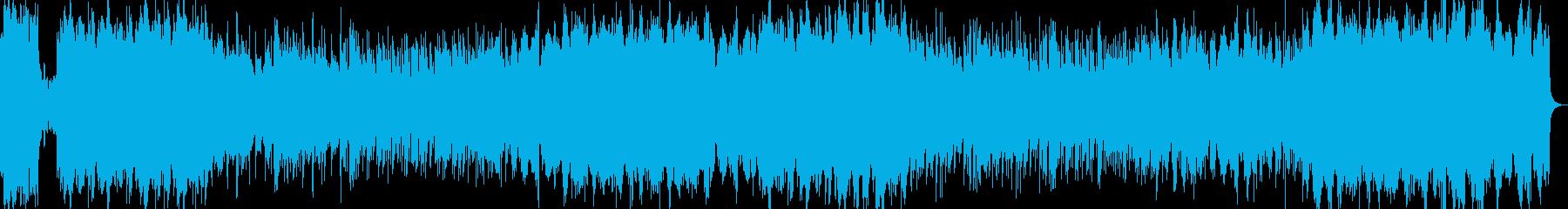 オーケストラ硝子シャンデリア優しいワルツの再生済みの波形