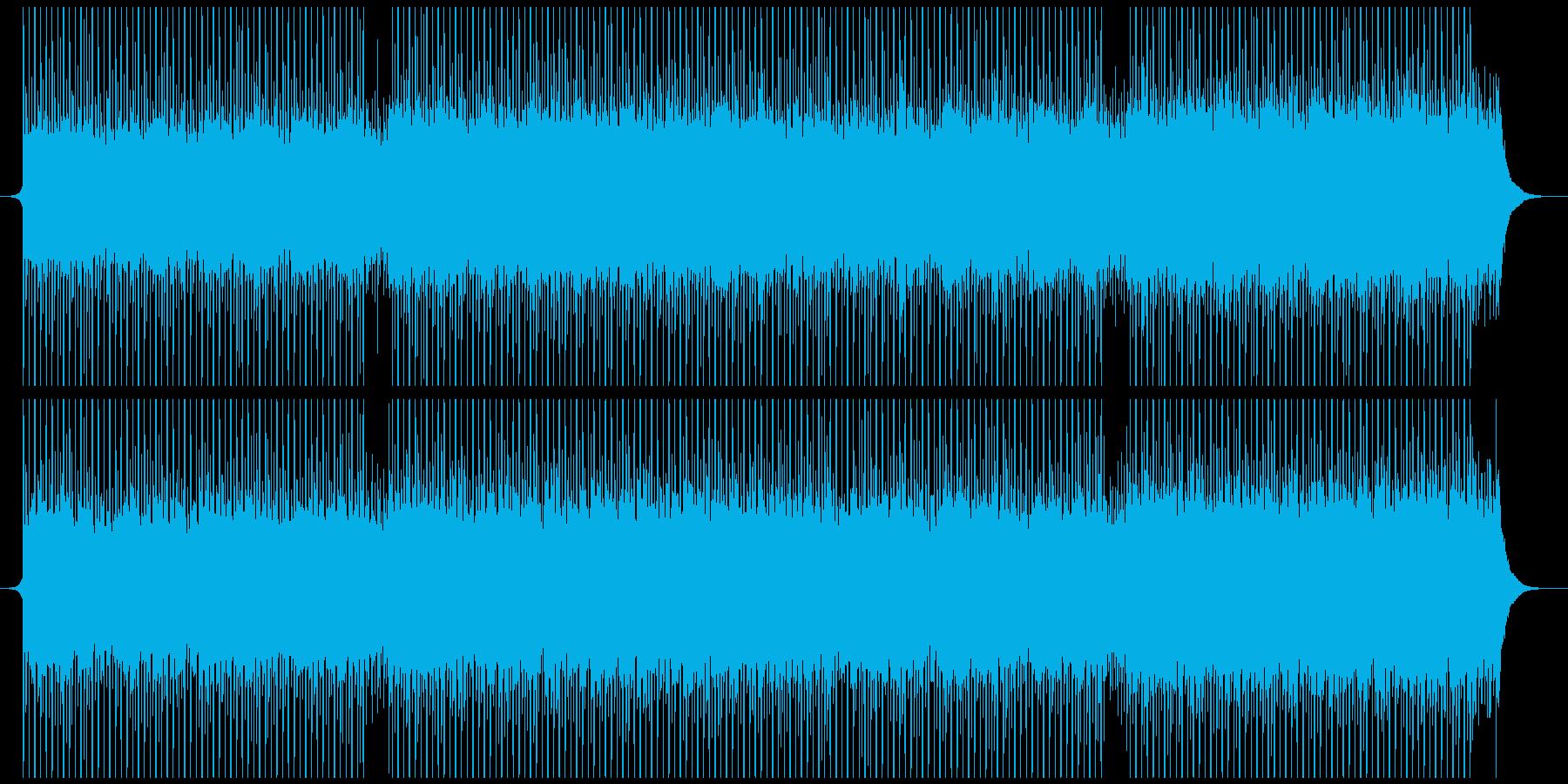 深刻なの再生済みの波形