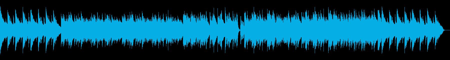 しっとり優しい感動的なピアノソロ曲の再生済みの波形