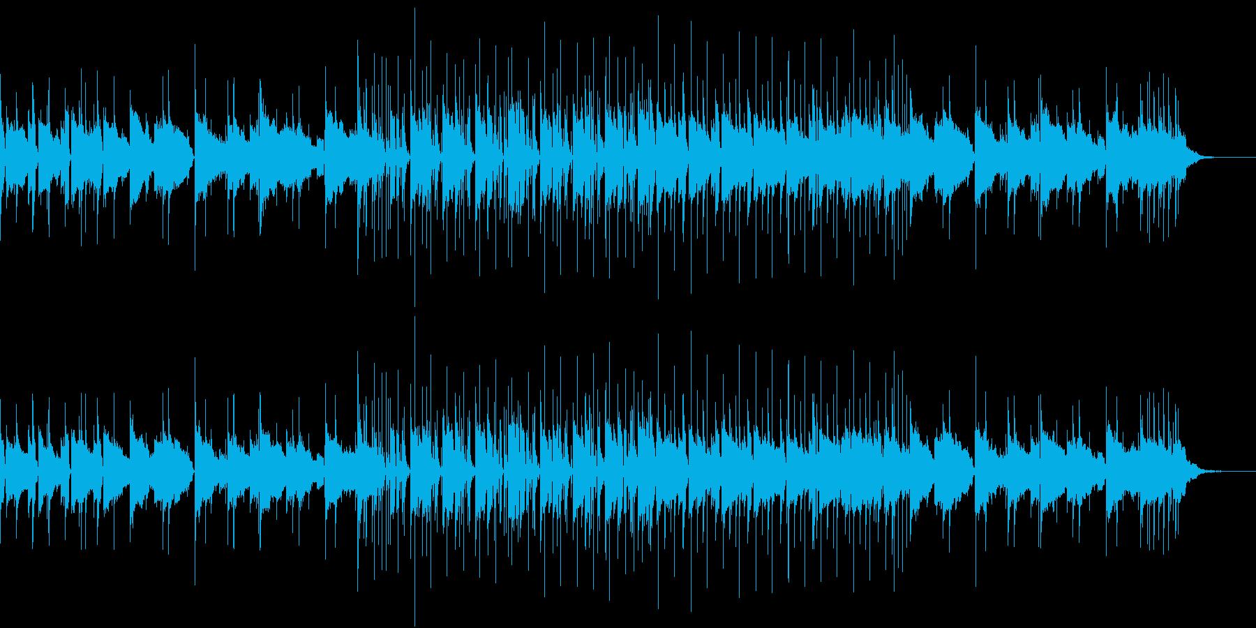 無機質な日常の再生済みの波形