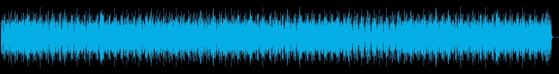 少し怪しげなヒップホップの再生済みの波形