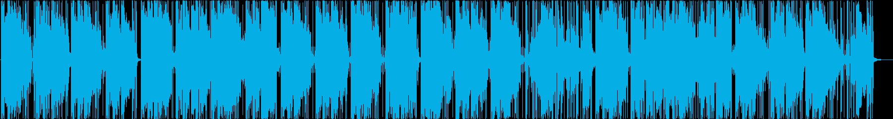 浮遊感のあるチルホップの再生済みの波形