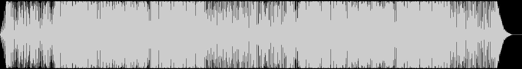 気分を盛り上げるメロディックハウスの未再生の波形