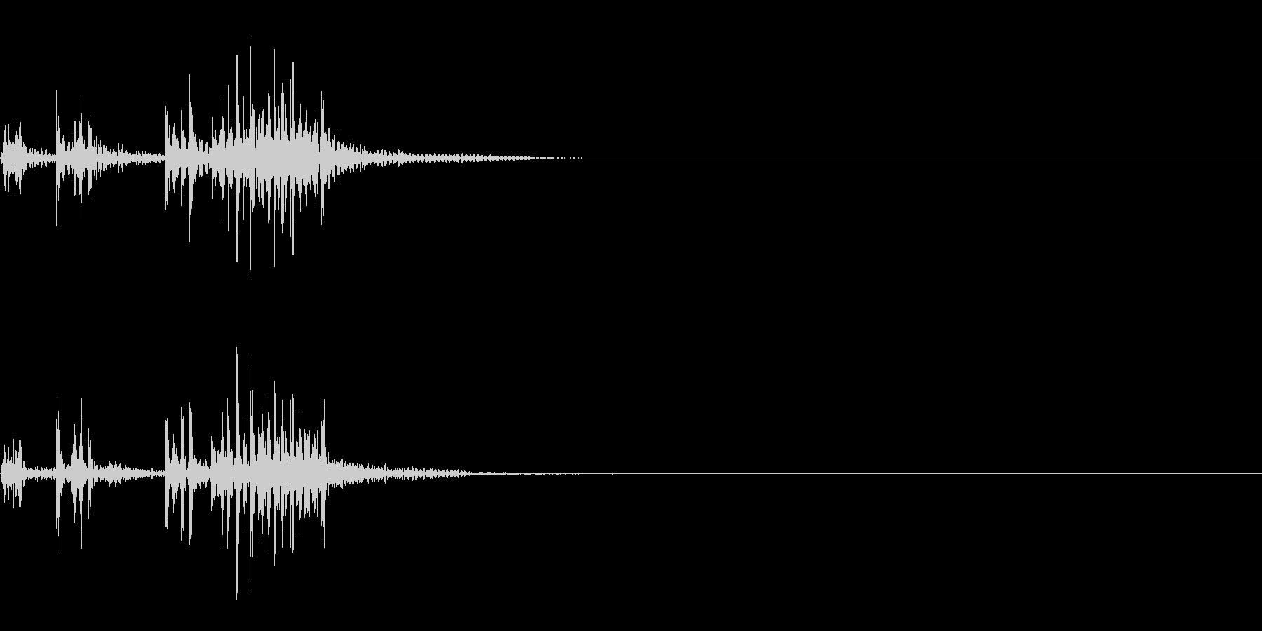 スパーク音-45の未再生の波形