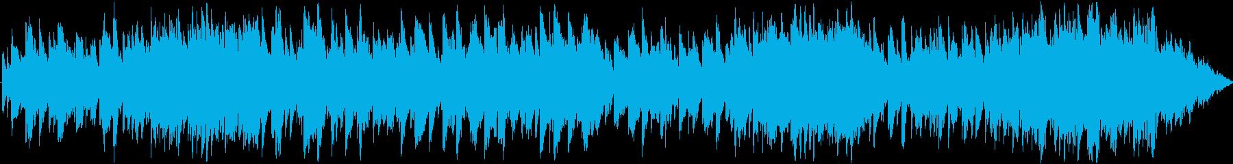 反射する幻想のベルの再生済みの波形