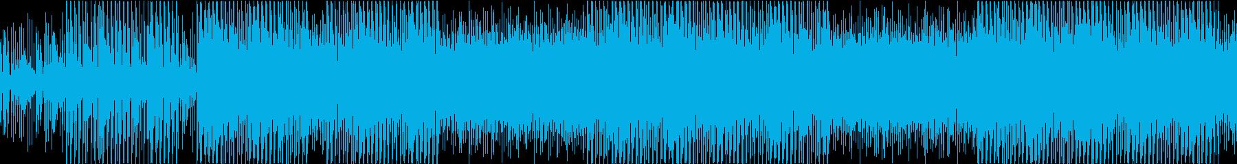 セクシーなラテンハウスの再生済みの波形