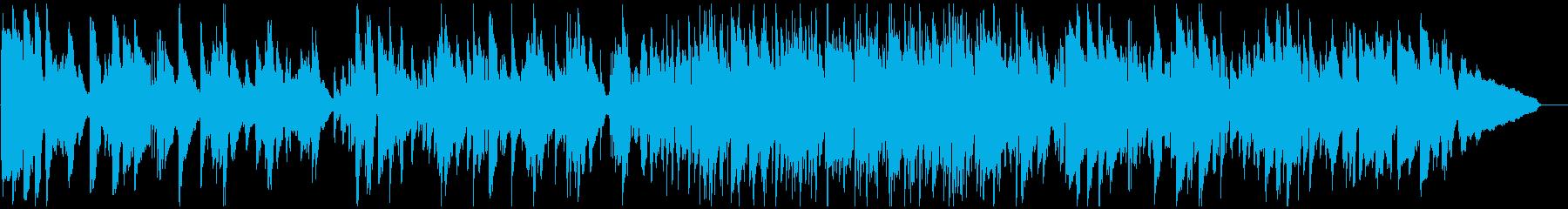 サックス生演奏のソフトなリラックスジャズの再生済みの波形