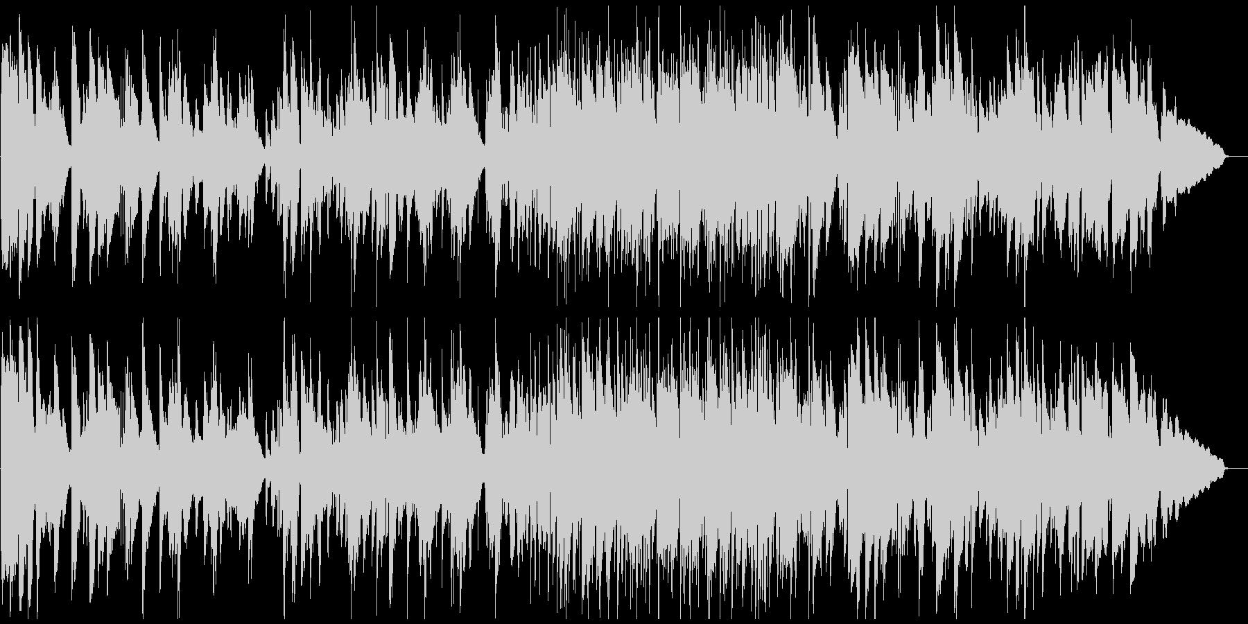 サックス生演奏のソフトなリラックスジャズの未再生の波形