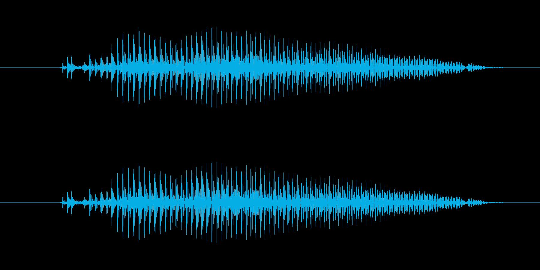 【子供の戦闘ボイス】えい!(小攻撃)の再生済みの波形