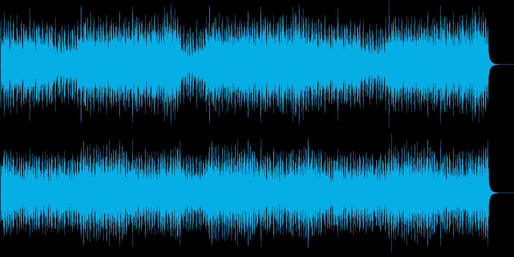 暗闇からの訪問者の再生済みの波形