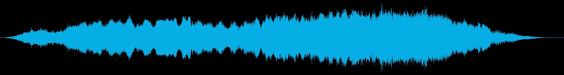 ヴィオラ:弦楽器全体の調和の再生済みの波形