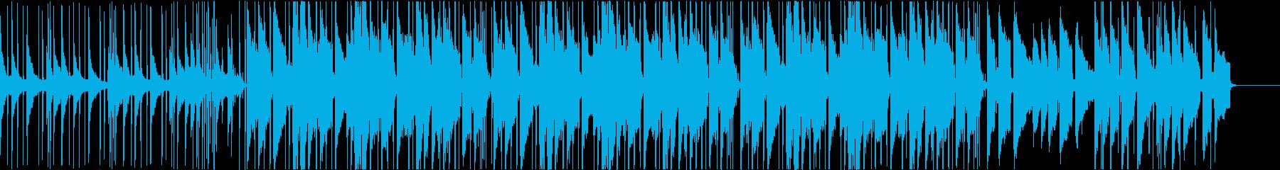 スローテンポでムーディーなネオソウル曲の再生済みの波形