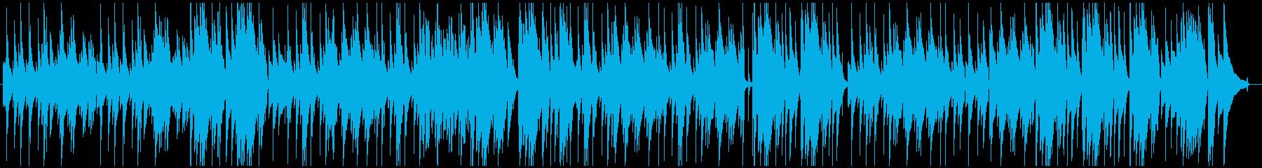 ガット・ギターによるクラシカルなインストの再生済みの波形