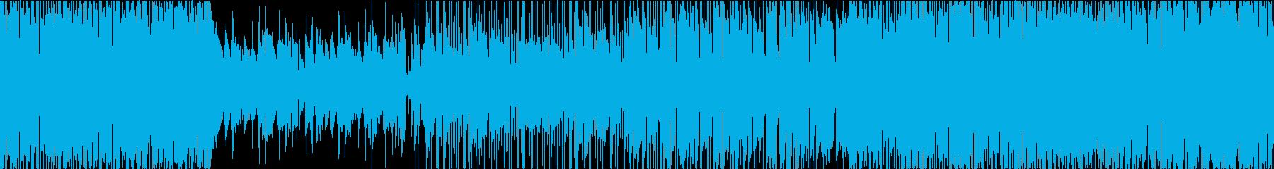 ラテンなイメージの陽気でお洒落サウンドの再生済みの波形
