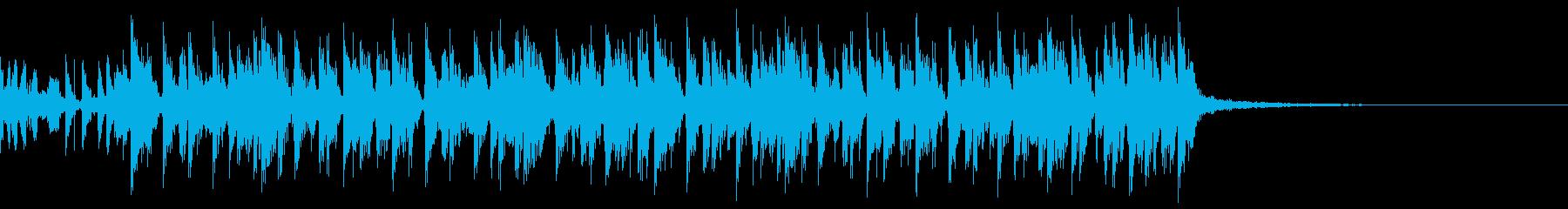 ジャイロスコープの再生済みの波形