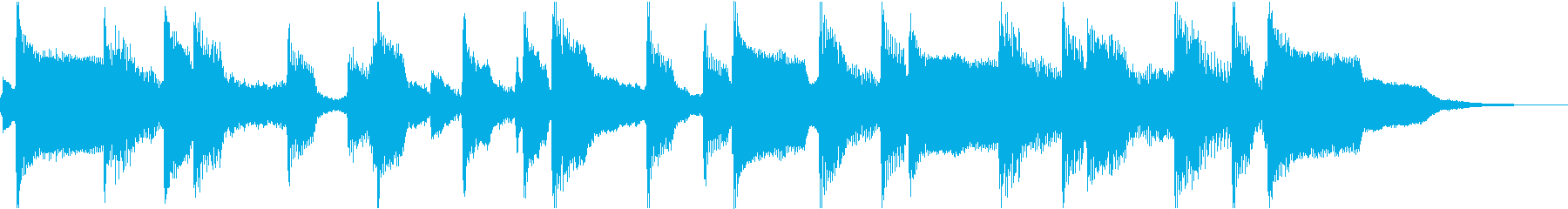ケルト_わびしいジングル の再生済みの波形