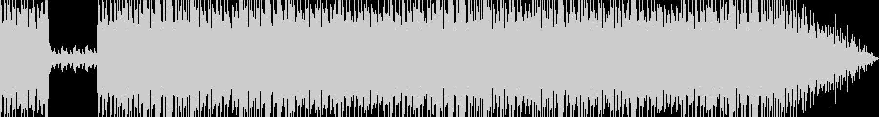 ピアノ、フリースタイルビートの未再生の波形